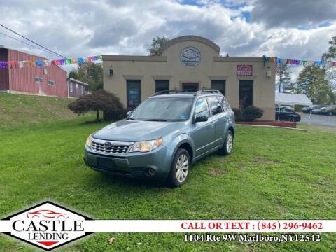 2011 Subaru Forester for sale at Classified Pre-owned Cars of Marlboro in Marlboro NY