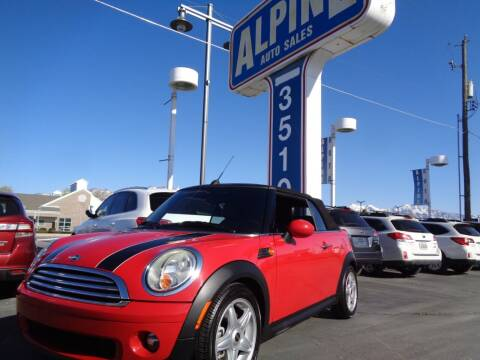 2010 MINI Cooper for sale at Alpine Auto Sales in Salt Lake City UT