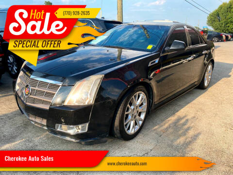 2011 Cadillac CTS for sale at Cherokee Auto Sales in Acworth GA