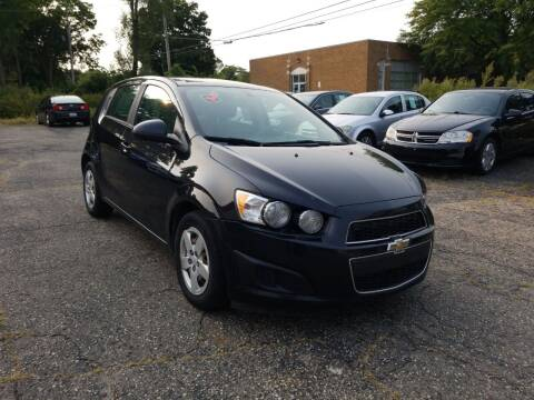 2015 Chevrolet Sonic for sale at Quality Auto Today in Kalamazoo MI