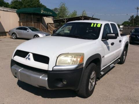 2006 Mitsubishi Raider for sale at OASIS PARK & SELL in Spring TX