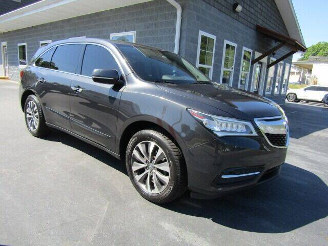 2016 Acura MDX for sale at Specialty Car Company in North Wilkesboro NC