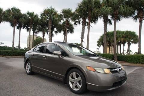 2008 Honda Civic for sale at Gulf Financial Solutions Inc DBA GFS Autos in Panama City Beach FL