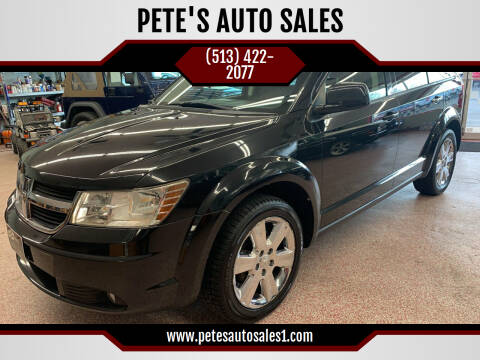 2009 Dodge Journey for sale at PETE'S AUTO SALES - Middletown in Middletown OH