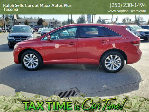 2013 Toyota Venza for sale at Ralph Sells Cars at Maxx Autos Plus Tacoma in Tacoma WA