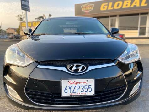 2013 Hyundai Veloster for sale at Global Auto Group in Fontana CA
