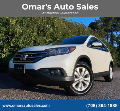 2014 Honda CR-V for sale at Omar's Auto Sales in Martinez GA