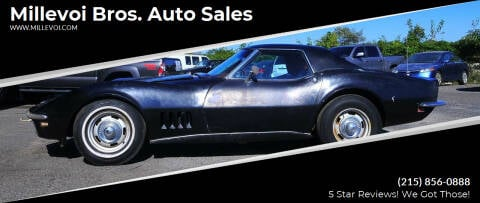 1968 Chevrolet Corvette for sale at Millevoi Bros. Auto Sales in Philadelphia PA