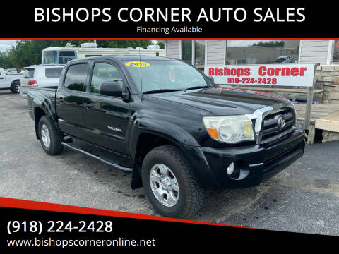 2010 Toyota Tacoma for sale at BISHOPS CORNER AUTO SALES in Sapulpa OK