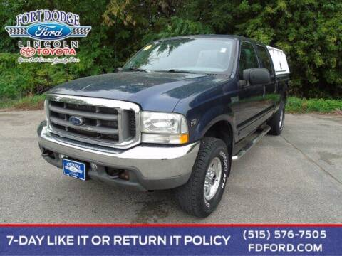 2002 Ford F-250 Super Duty for sale at Fort Dodge Ford Lincoln Toyota in Fort Dodge IA