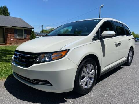 2016 Honda Odyssey for sale at Viewmont Auto Sales in Hickory NC
