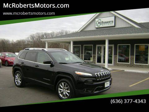 2018 Jeep Cherokee for sale at McRobertsMotors.com in Warrenton MO