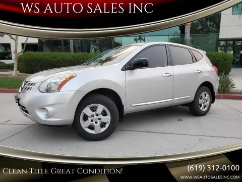 2012 Nissan Rogue for sale at WS AUTO SALES INC in El Cajon CA