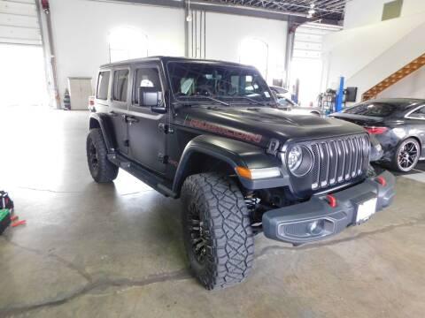 2018 Jeep Wrangler Unlimited for sale at Shedlock Motor Cars LLC in Warren NJ