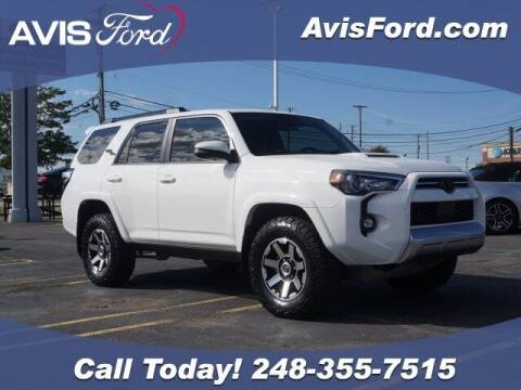 2021 Toyota 4Runner for sale at Work With Me Dave in Southfield MI