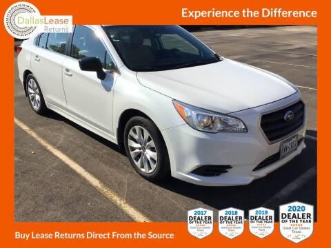 2017 Subaru Legacy for sale at Dallas Auto Finance in Dallas TX