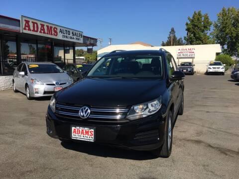 2017 Volkswagen Tiguan for sale at Adams Auto Sales in Sacramento CA
