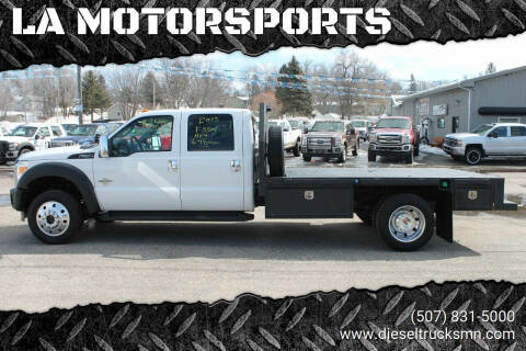 2013 Ford F-550 Super Duty for sale at LA MOTORSPORTS in Windom MN