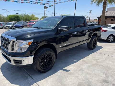 2018 Nissan Titan for sale at A AND A AUTO SALES in Gadsden AZ