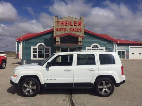 2017 Jeep Patriot for sale at THEILEN AUTO SALES in Clear Lake IA