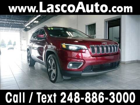 2019 Jeep Cherokee for sale at Lasco of Waterford in Waterford MI