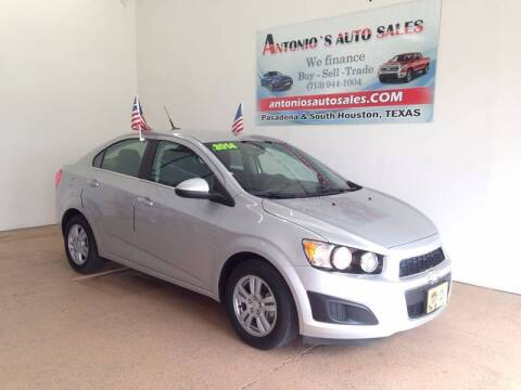 2014 Chevrolet Sonic for sale at Antonio's Auto Sales in South Houston TX