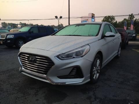 2018 Hyundai Sonata for sale at P J McCafferty Inc in Langhorne PA