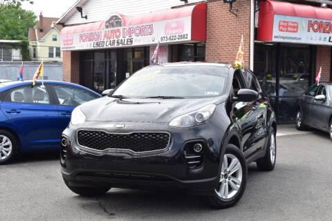 2018 Kia Sportage for sale at Foreign Auto Imports in Irvington NJ