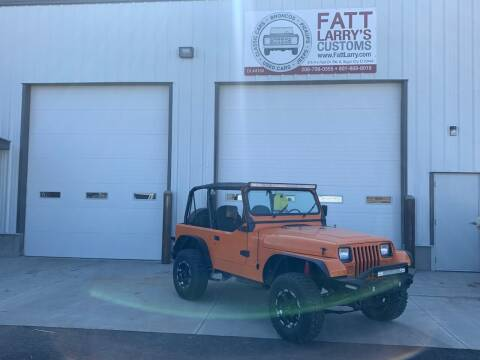 1994 Jeep Wrangler for sale at Fatt Larry's Customs - Classics/Projects in Sugar City ID