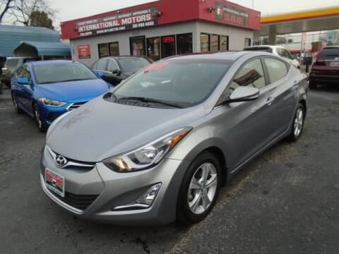 2016 Hyundai Elantra for sale at International Motors in Laurel MD