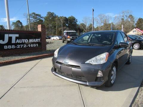 2012 Toyota Prius c for sale at J T Auto Group in Sanford NC