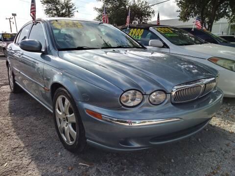 2004 Jaguar X-Type for sale at AFFORDABLE AUTO SALES OF STUART in Stuart FL