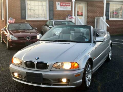 2001 BMW 3 Series for sale at Carland Auto Sales INC. in Portsmouth VA