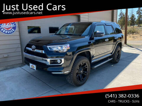 2017 Toyota 4Runner for sale at Just Used Cars in Bend OR