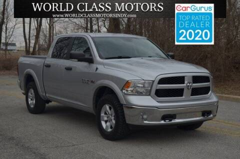 2015 RAM Ram Pickup 1500 for sale at World Class Motors LLC in Noblesville IN