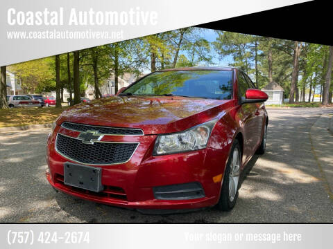 2014 Chevrolet Cruze for sale at Coastal Automotive in Virginia Beach VA