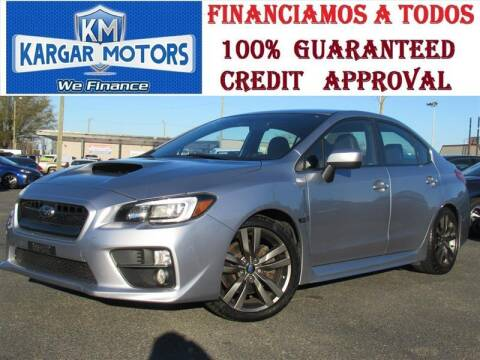 2017 Subaru WRX for sale at Kargar Motors of Manassas in Manassas VA