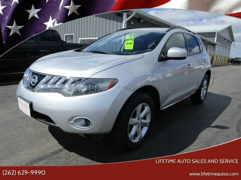2009 Nissan Murano for sale at Lifetime Auto Sales and Service in West Bend WI