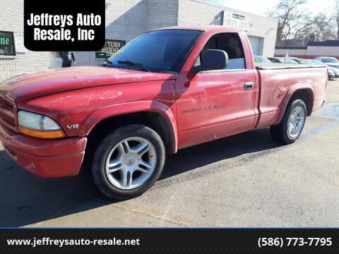 1999 Dodge Dakota for sale at Jeffreys Auto Resale, Inc in Clinton Township MI