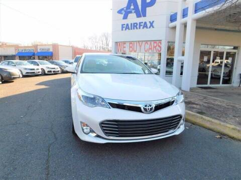 2013 Toyota Avalon for sale at AP Fairfax in Fairfax VA