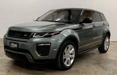 2017 Land Rover Range Rover Evoque for sale at FDS Luxury Auto in San Antonio TX