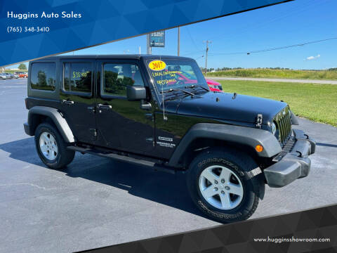 2017 Jeep Wrangler Unlimited for sale at Huggins Auto Sales in Hartford City IN