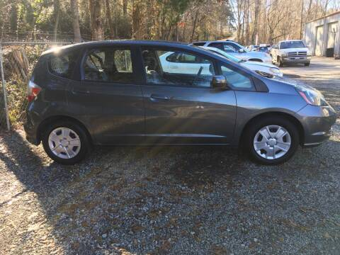 2013 Honda Fit for sale at Buddy's Auto Inc in Pendleton SC