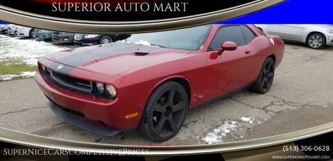 2010 Dodge Challenger for sale at SUPERIOR AUTO MART in Amelia OH