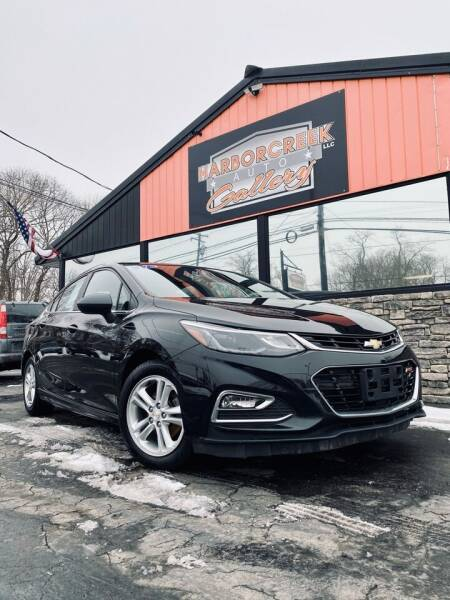 2017 Chevrolet Cruze for sale at Harborcreek Auto Gallery in Harborcreek PA