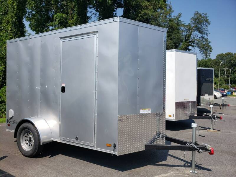 2021 6x10 Deluxe Enclosed Trailer for sale at Big Daddy's Trailer Sales in Winston Salem NC