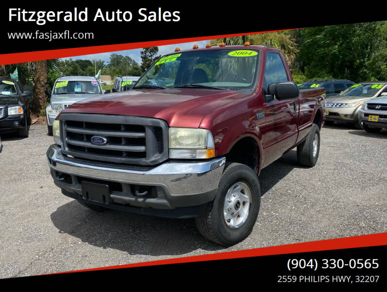 2004 Ford F-250 Super Duty for sale at Fitzgerald Auto Sales in Jacksonville FL