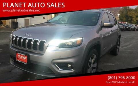 2019 Jeep Cherokee for sale at PLANET AUTO SALES in Lindon UT