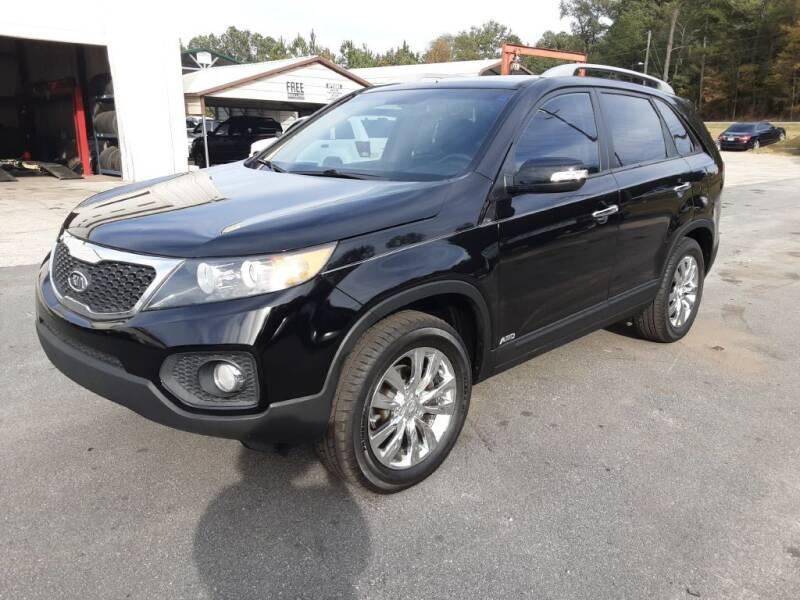 2011 Kia Sorento for sale at Mathews Used Cars, Inc. in Crawford GA