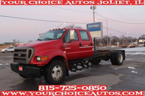 2002 Ford F-650 Super Duty for sale at Your Choice Autos - Joliet in Joliet IL
